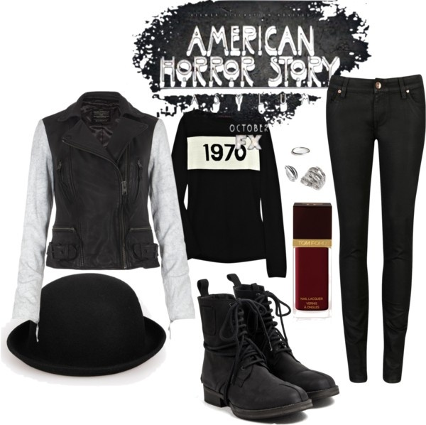 """""""American Horror Story Inspired"""" by comfys ❤ liked on Polyvore"""