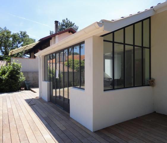 atelier jardin d 39 hiver agrandissement maison jardin d. Black Bedroom Furniture Sets. Home Design Ideas