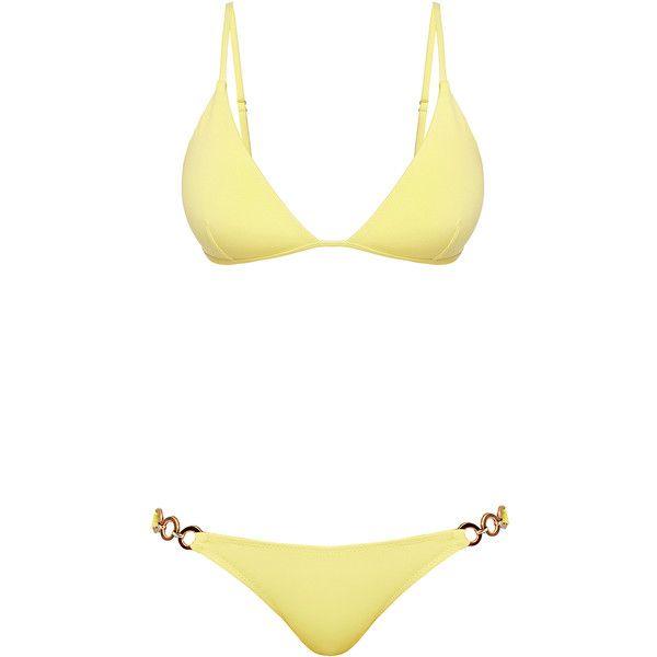 Yellow Bikini Swimwear