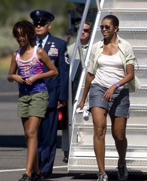 Мишель Обама пожалела о том, что надела шорты