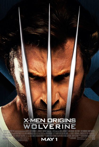 X MEN LE ORIGINI: WOLVERINE (Un film di Gavin Hood. Con Hugh Jackman, Liev Schreiber, Danny Huston - USA/ Nuova Zelanda/ Australia 2009)