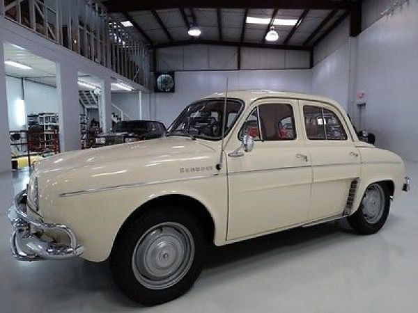 Renault: Other Dauphine, ARIZONA CAR ITS ENTIRE LIFE! 1963 renault dauphine sedan only 48 031 actual miles exceptional condition