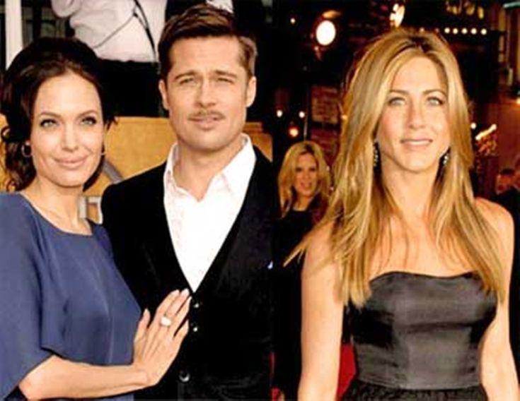 Angelina Jolie Divorce Forces Brad Pitt To Seek Comfort In Jennifer Aniston's Friendship #AngelinaJolie, #BradPitt celebrityinsider.org #Entertainment #celebrityinsider #celebrities #celebrity #celebritynews