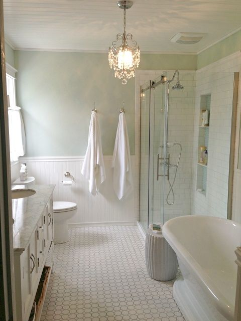 sherwin williams sea salt | Sherwin Williams Sea Salt - Bathroom Remodel by Golden Boys ... | Home