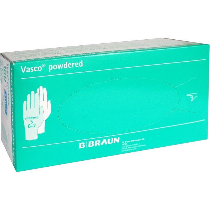 VASCO Untersuchungshandschuhe gepudert klein:   Packungsinhalt: 100 St Handschuhe PZN: 03429146 Hersteller: B. Braun Melsungen AG Preis:…