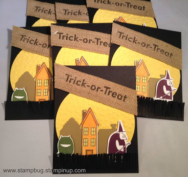 sneak peek from the upcoming holiday catalog stampin up - Stampin Up Halloween Ideas