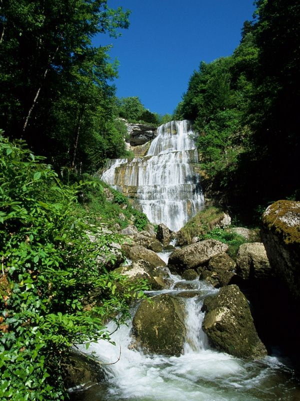 Le Hérisson et ses cascades - - Jura Tourisme
