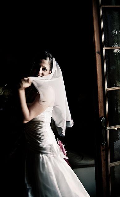 A bride in the dark