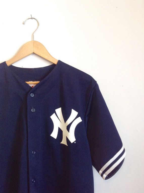 New York Baseball Jersey by DamselflyGoods on Etsy