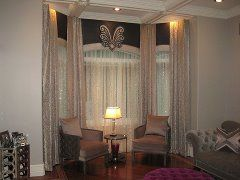 53 Best Bay Window Treatments Images On Pinterest Bay