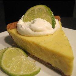 Key lime pie! My new summer fav