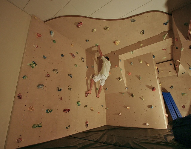 Rock Wall Design rock wall Eclectic Home Gym By Kuhl Design Build Llc Rock Climbing Wall In Attic