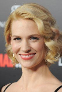 January Jones Picture  	 Top 500 January Jones (I) Actress | Soundtrack January Jones was born in Sioux Falls, South Dakota, but was raised in a small town of some 400 souls in the Mount Rushmore State for the first decade of her life. January is her real name, as she was named after January Wayne, a character in Jacqueline Susann's potboiler Once Is Not Enough (1975).