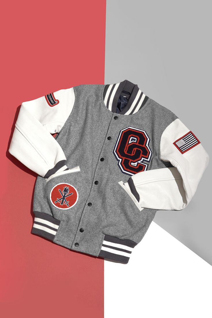 OPENING CEREMONY OC EXCLUSIVE VARSITY JACKET $ 395