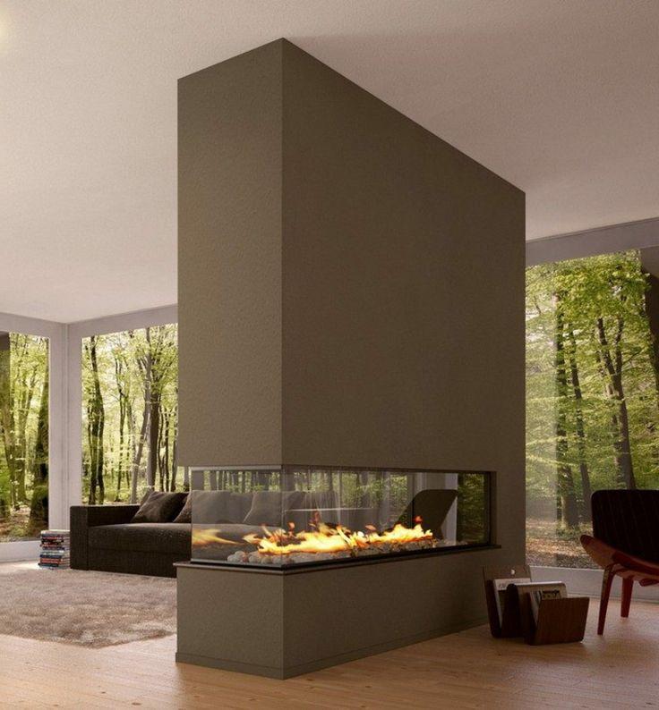 46 best Moderne Kamine images on Pinterest Modern fireplaces - pelletofen für wohnzimmer