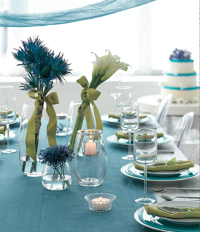 Perfect for wedding or party. Clearly Creative Collection by PartyLite http://www.partylite.biz/sites/nikkihendrix/productcatalog?page=decoratingIdeas&diPage=2