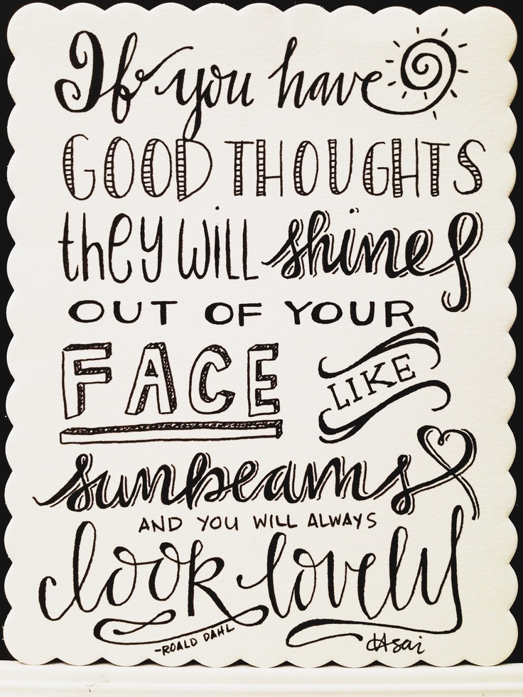 by torrie t. asai // this quote is goofy and always makes me smile, so had to do it // first discovered on lisa cogdon's blog