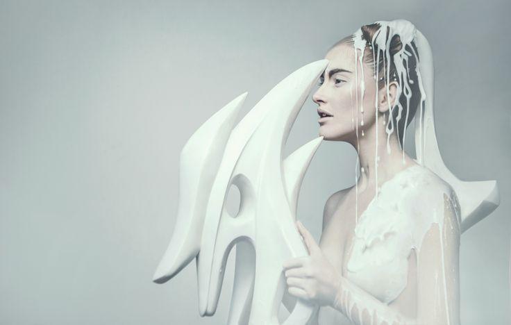 OLYMP -Poseidon, Ares, Demeter, Artemis, Hades  photo: Evelyn Bencicova  make-up and hair: Adam Csoka Keller, Alena Zahorska  models: Daisy S., Alexandra R., Kristina T., Lena K.