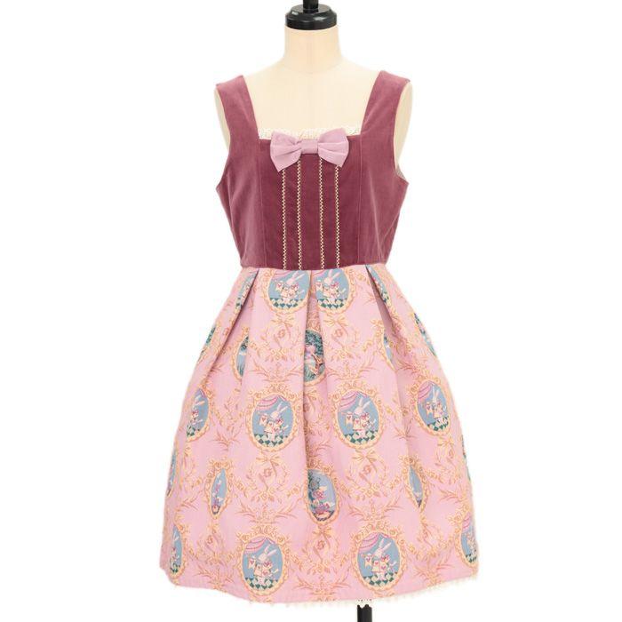 ♡ shirly Temple ♡ Alice Gobelins jumper skirt http://www.wunderwelt.jp/products/detail11081.html ☆ ·.. · ° ☆ How to order ☆ ·.. · ° ☆ http://www.wunderwelt.jp/user_data/shoppingguide-eng ☆ ·.. · ☆ Japanese Vintage Lolita clothing shop Wunderwelt ☆ ·.. · ☆