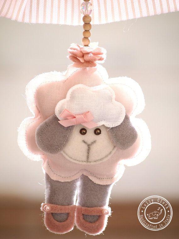 Ghirlanda neonato Fiocco nascita neonata Corona di LollyCloth