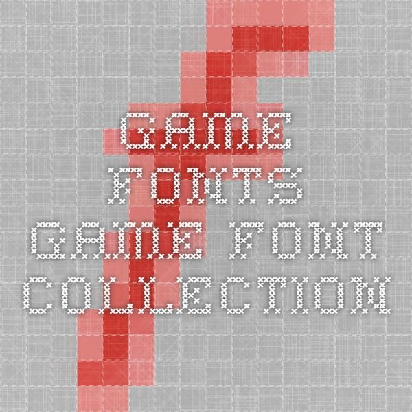 Game Fonts - Game Font Collection