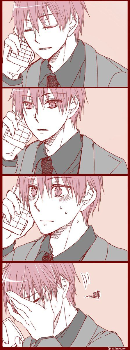Ne Akashi-San? Yes what is it? I...I just want to say.... Hmmm? I love you! ........❤