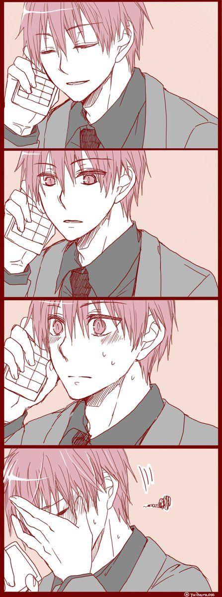 Ne Akashi-San? Yes what is it? I...I just want to say.... Hmmm? I love you! ........❤