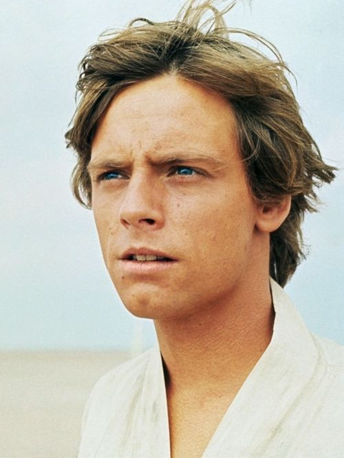 Mark Hamill in Star Wars.