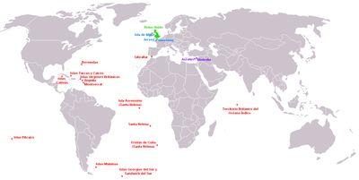 Territórios britânicos ultramarinos