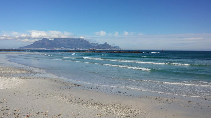 A little bit of sunshine at Big Bay after all the recent rain. But don't let the blue skies fool you - there's still more rain on the way... #ctrci #capetownvolunteer