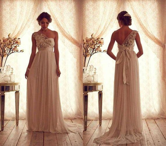 Goddess Vintage Empire Waist Dress