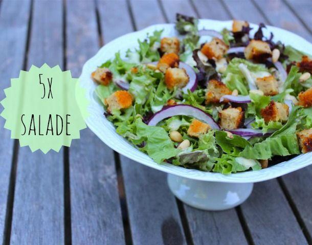 5x salade - Lekker en Simpel