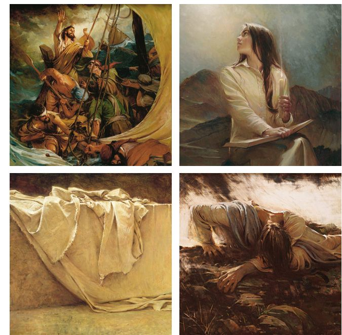 paintings of the Savior and religious art Walter Rane Fine Art  One of my favorite artists