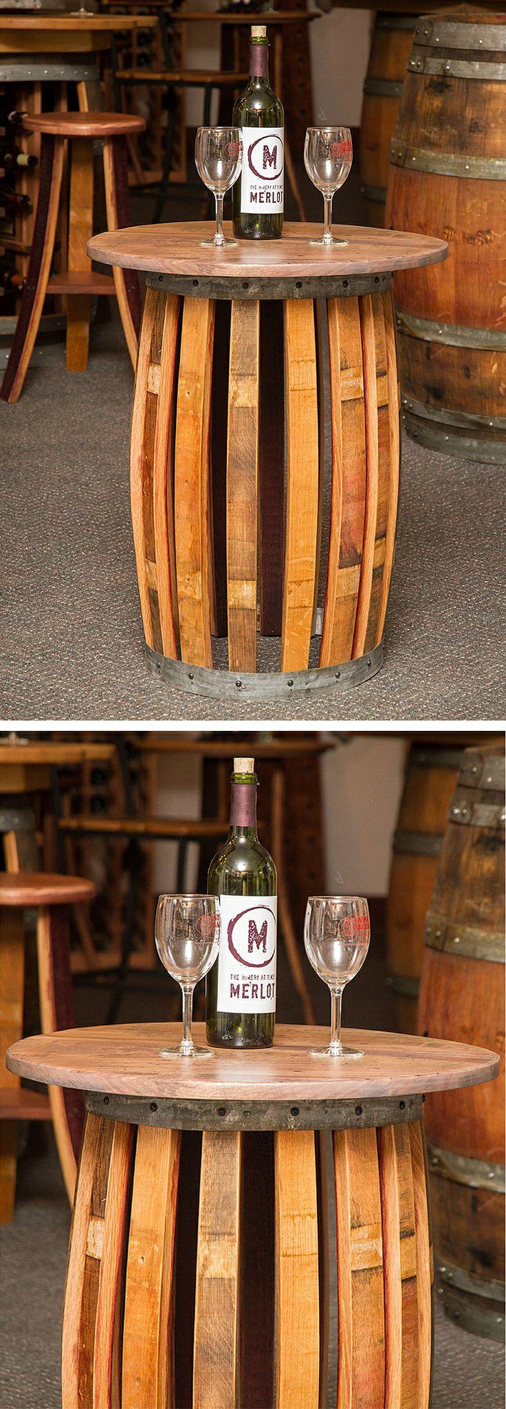 17 Best Images About Wine Barrel Furniture On Pinterest
