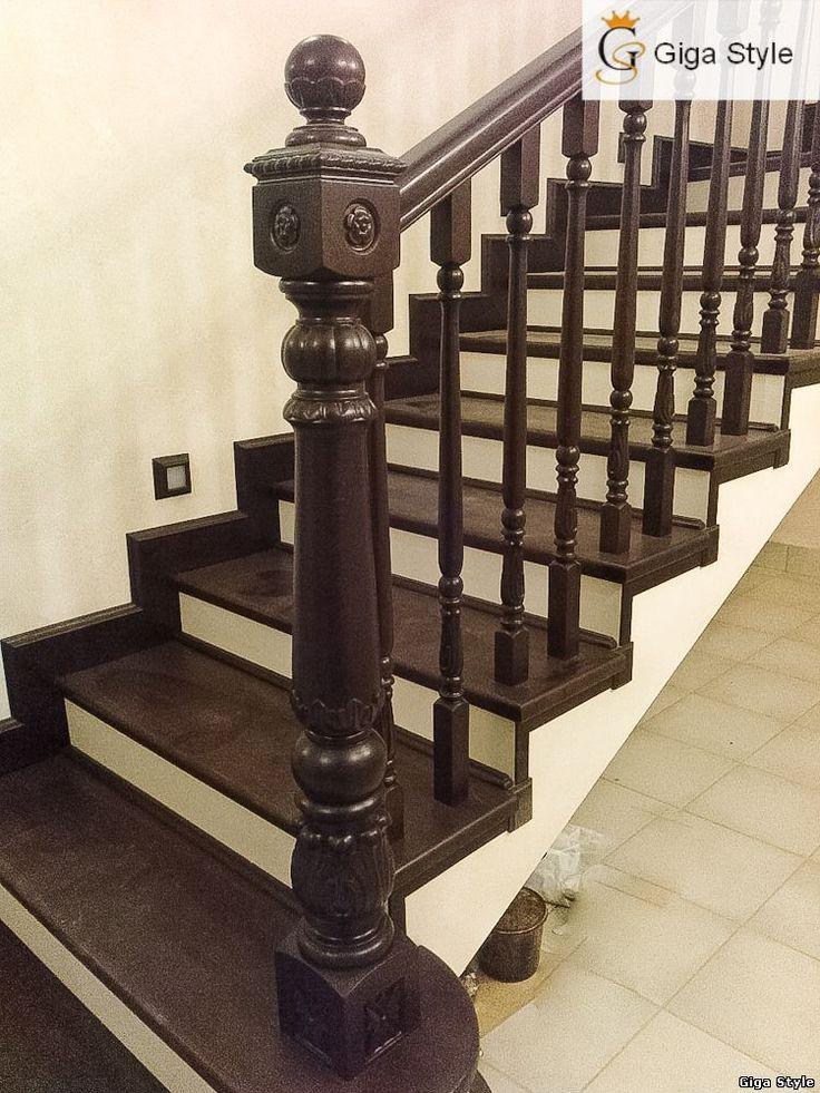 Чертежи лестницы из дерева на второй этаж своими руками