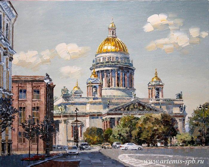 Городской пейзаж. Виды Санкт-Петербурга