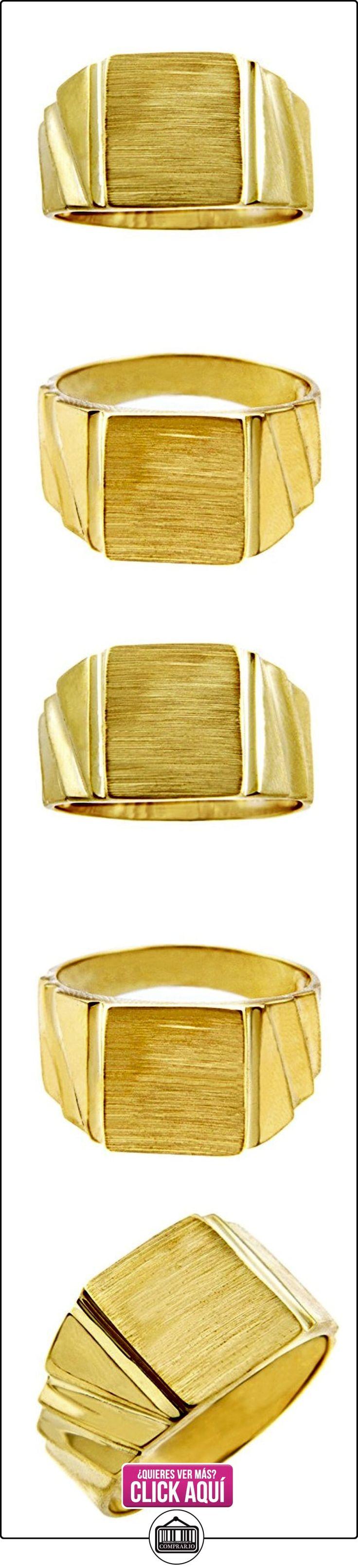 Pequeños Tesoros - Anillos Hombres Alianza De Boda 10 Kt Oro 471/1000 Sortija De sello- Inolvidable  ✿ Joyas para hombres especiales - lujo ✿ ▬► Ver oferta: http://comprar.io/goto/B01277Y08Q