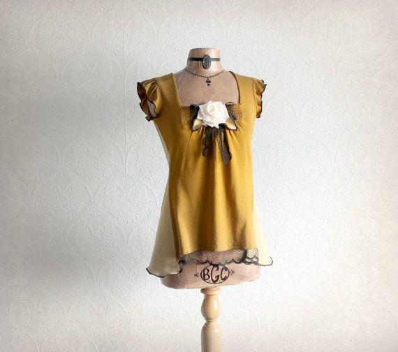 Bohemian Babydoll Shabby Chic Clothing by BrokenGhostClothing