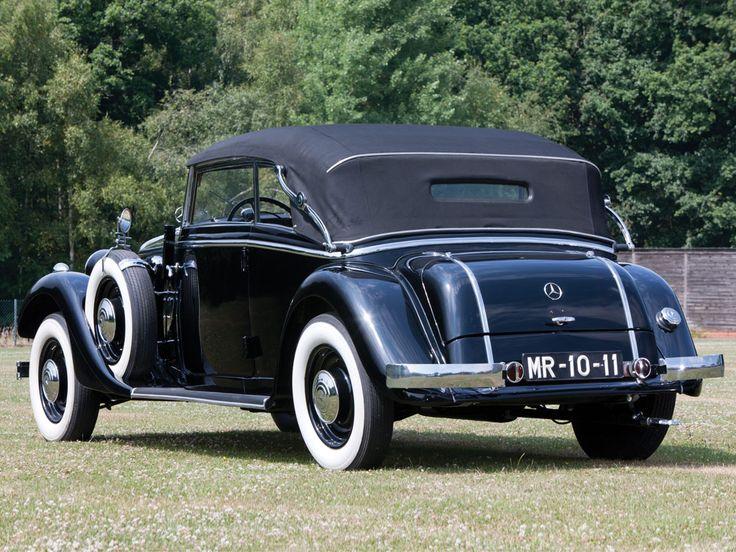 1936 mercedes benz 290 cabriolet b mbhess mbclassic for Mercedes benz salem