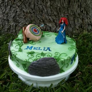 Melia S Quot Brave Quot Cake Cakes Brave Cakes Brave Birthday