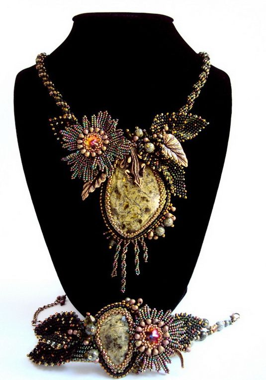 Beautiful Beaded jewelry by Natalia Savelieva | Beads Magic