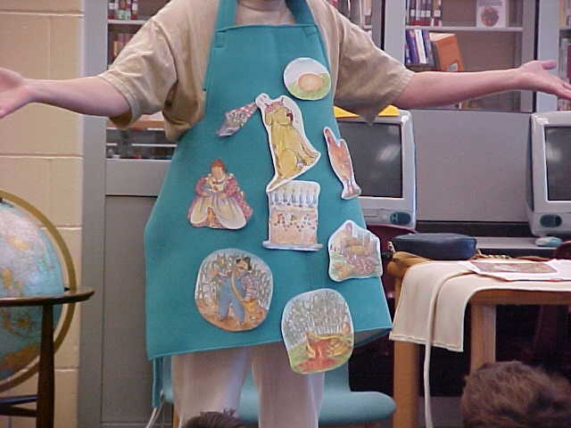 story apron-I had a story apron when I taught school. The kids loved it. I want one again for my grandchildren!