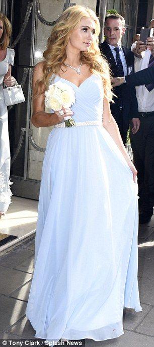 Paris Hilton ,Nicky Hilton bridesmaid