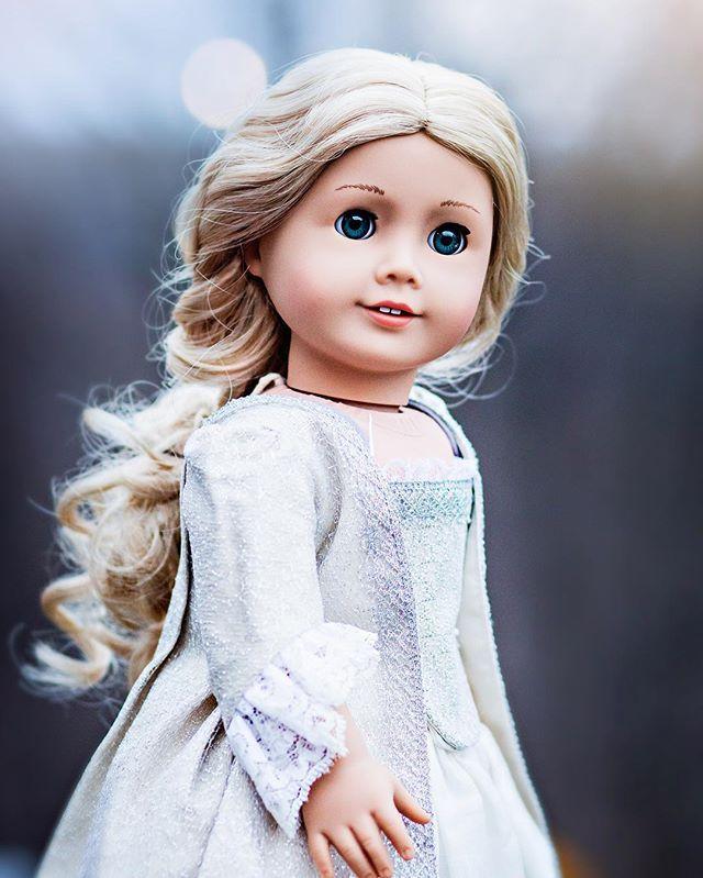 custom Reinette American Girl doll by kingsgirl1015 on Instagram