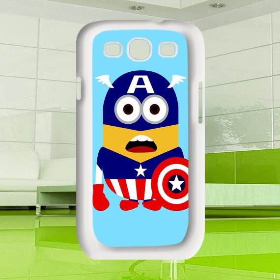 Samsung Galaxy S3 Cool Despicable Me style Captain by MuliasCraft, $15.50
