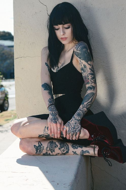 Hannah Snowdon   Visit the InkedFemales website at http://inkedfemales.com or follow us on Twitter @InkedFemales