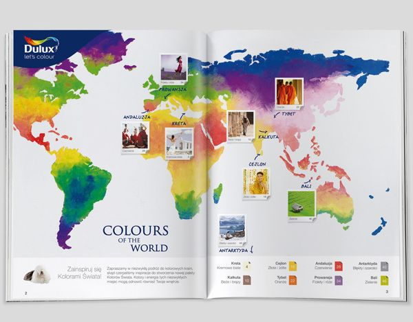 Dulux Colour Card 2012 on Behance