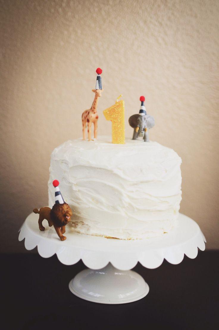 For Beau's 1st birthday   Party animal birthday cake