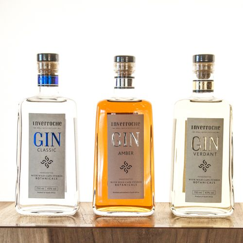 Inverroche Gin proudly made in South Africa