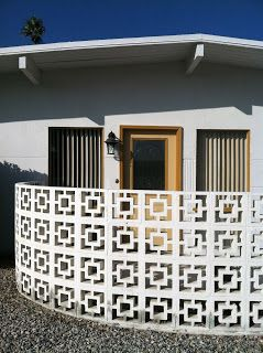 Meiselmania: Decorative Concrete Screen Block